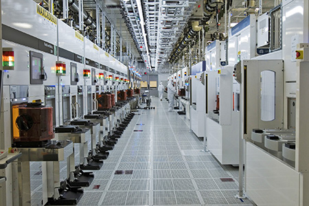 wafer fabrication area