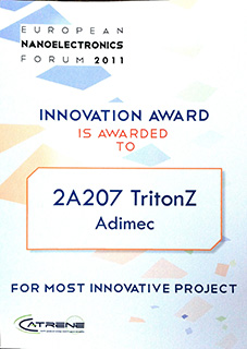 Innovation award 2011 TritonZ