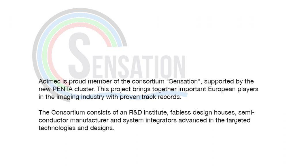 Adimec member Sensation by Penta
