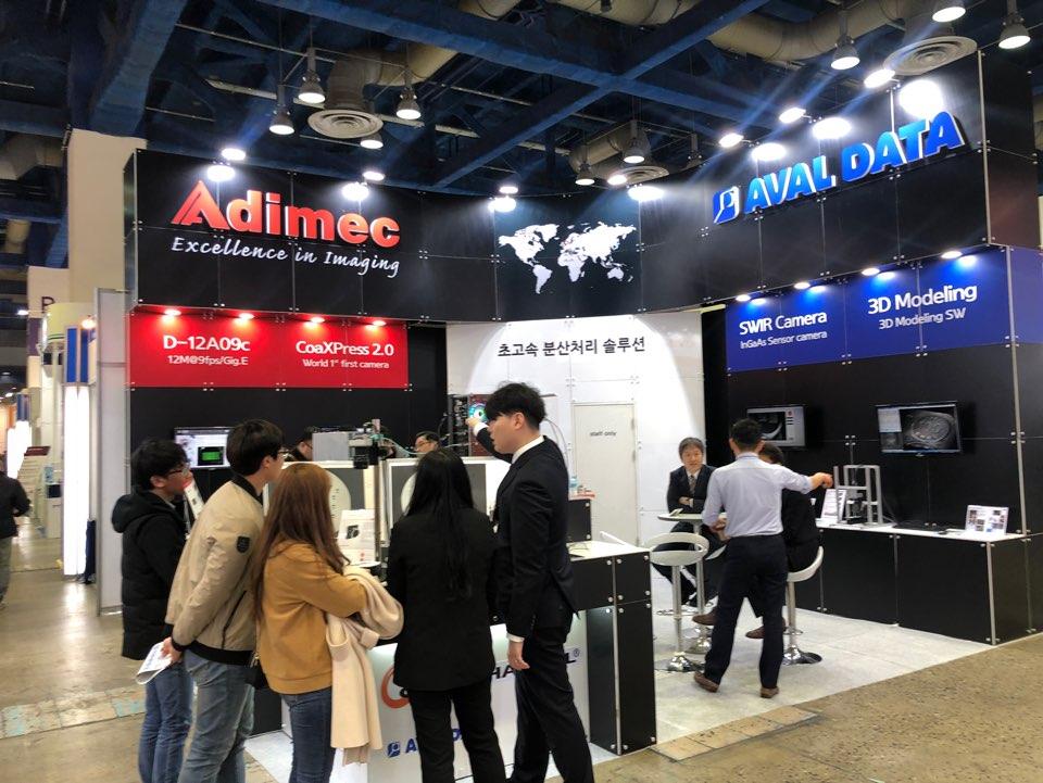 Adimec/AVALDATA booth at Automation 2019