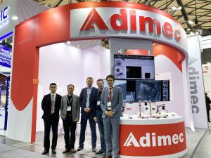 Adimec booth Vision China 2019