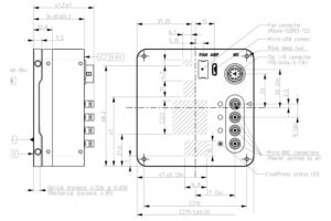 Q-21A230 outline drawing