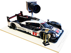 The TMX74 camera used at Le Mans race track